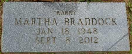 BRADDOCK, MARTHA - Alcorn County, Mississippi | MARTHA BRADDOCK - Mississippi Gravestone Photos