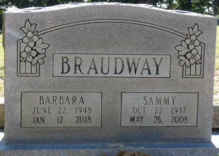 BRAUDWAY, SAMMY  - Alcorn County, Mississippi | SAMMY  BRAUDWAY - Mississippi Gravestone Photos