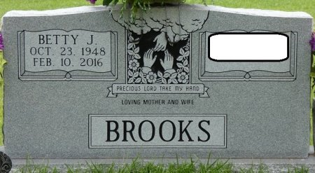 BROOKS, BETTY JOYCE - Alcorn County, Mississippi | BETTY JOYCE BROOKS - Mississippi Gravestone Photos