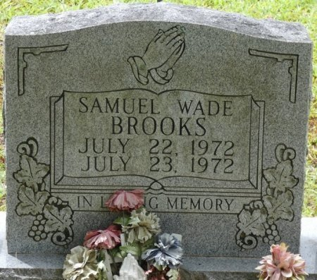 BROOKS, SAMUEL WADE - Alcorn County, Mississippi   SAMUEL WADE BROOKS - Mississippi Gravestone Photos