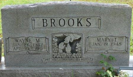 BROOKS, WAYNE MURRY - Alcorn County, Mississippi | WAYNE MURRY BROOKS - Mississippi Gravestone Photos