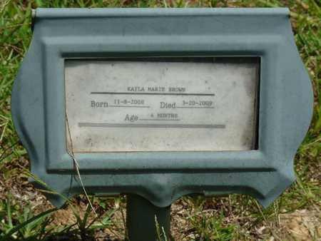 BROWN, KAYLA MARIE - Alcorn County, Mississippi | KAYLA MARIE BROWN - Mississippi Gravestone Photos