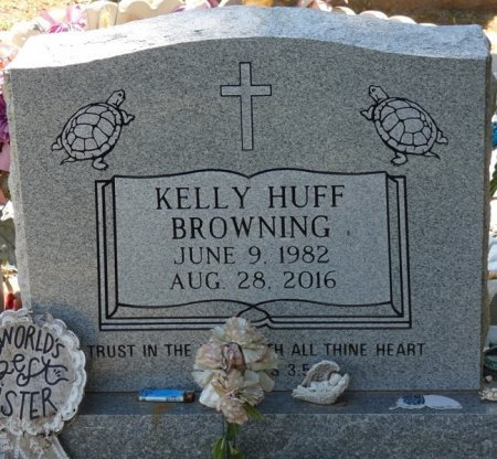 HUFF BROWNING, KELLY ANN - Alcorn County, Mississippi | KELLY ANN HUFF BROWNING - Mississippi Gravestone Photos