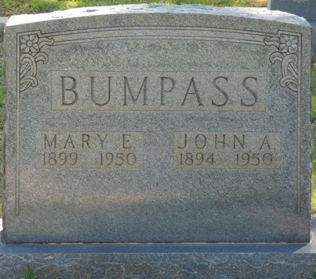 BUMPASS, MARY E - Alcorn County, Mississippi | MARY E BUMPASS - Mississippi Gravestone Photos