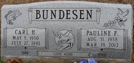 BUNDESEN, CARL H - Alcorn County, Mississippi   CARL H BUNDESEN - Mississippi Gravestone Photos