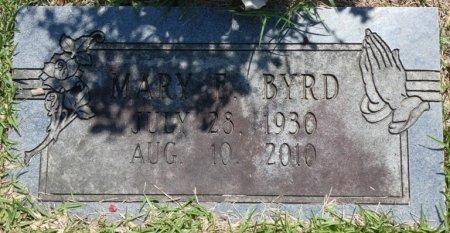 BYRD, MARY E - Alcorn County, Mississippi | MARY E BYRD - Mississippi Gravestone Photos