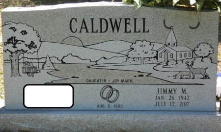 CALDWELL, JIMMY M - Alcorn County, Mississippi | JIMMY M CALDWELL - Mississippi Gravestone Photos