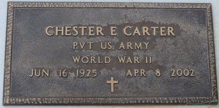 CARTER (VETERAN WWII), CHESTER E - Alcorn County, Mississippi | CHESTER E CARTER (VETERAN WWII) - Mississippi Gravestone Photos
