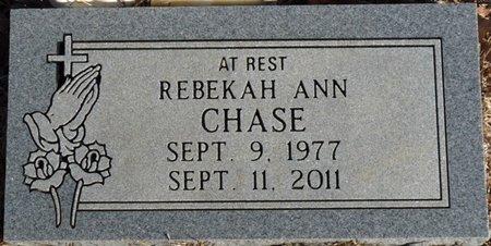 CHASE, REBEKAH ANN - Alcorn County, Mississippi | REBEKAH ANN CHASE - Mississippi Gravestone Photos