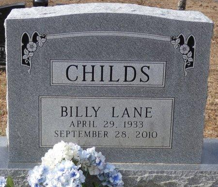 CHILDS, BILLY LANE - Alcorn County, Mississippi   BILLY LANE CHILDS - Mississippi Gravestone Photos