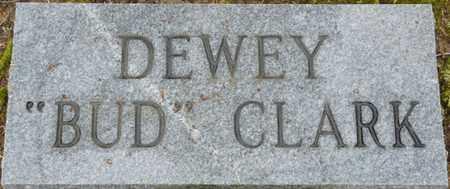 "CLARK, DEWEY ""BUD"" - Alcorn County, Mississippi | DEWEY ""BUD"" CLARK - Mississippi Gravestone Photos"