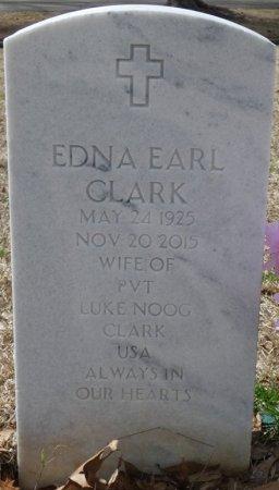 CLARK, EDNA EARL - Alcorn County, Mississippi | EDNA EARL CLARK - Mississippi Gravestone Photos