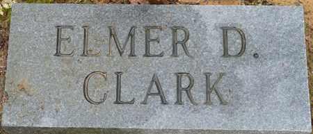 CLARK, ELMER D - Alcorn County, Mississippi | ELMER D CLARK - Mississippi Gravestone Photos