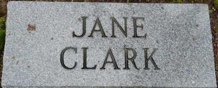 CLARK, JANE - Alcorn County, Mississippi   JANE CLARK - Mississippi Gravestone Photos