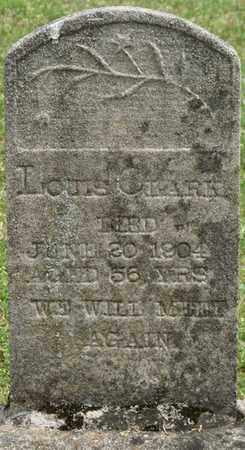 CLARK, LOUIS - Alcorn County, Mississippi | LOUIS CLARK - Mississippi Gravestone Photos