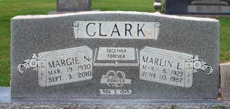 CLARK, MARLIN L - Alcorn County, Mississippi | MARLIN L CLARK - Mississippi Gravestone Photos
