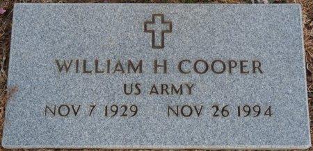COOPER (VETERAN), WILLIAM H - Alcorn County, Mississippi | WILLIAM H COOPER (VETERAN) - Mississippi Gravestone Photos
