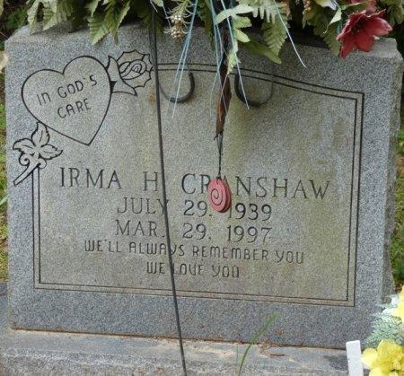 HAYDEN CRANSHAW, IRMA - Alcorn County, Mississippi | IRMA HAYDEN CRANSHAW - Mississippi Gravestone Photos