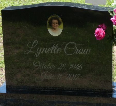 ROGERS CROW, LYNETTE - Alcorn County, Mississippi | LYNETTE ROGERS CROW - Mississippi Gravestone Photos