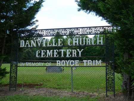 *DANVILLE CHURCH, CEMETERY - Alcorn County, Mississippi   CEMETERY *DANVILLE CHURCH - Mississippi Gravestone Photos