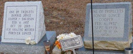 DAVIDSON, DONNIE JOYCE - Alcorn County, Mississippi | DONNIE JOYCE DAVIDSON - Mississippi Gravestone Photos