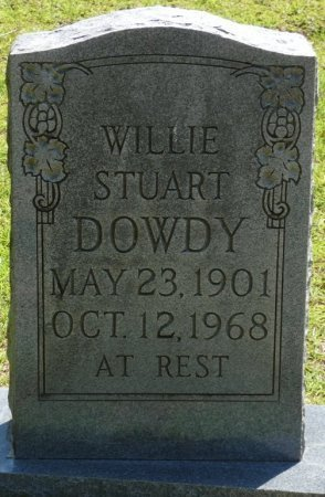 DOWDY, WILLIE STUART - Alcorn County, Mississippi | WILLIE STUART DOWDY - Mississippi Gravestone Photos