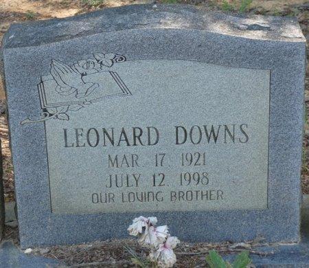 DOWNS, LEONARD - Alcorn County, Mississippi | LEONARD DOWNS - Mississippi Gravestone Photos