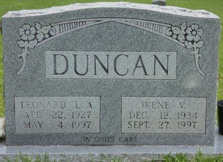 "DUNCAN, LEONARD ""L.A."" - Alcorn County, Mississippi | LEONARD ""L.A."" DUNCAN - Mississippi Gravestone Photos"