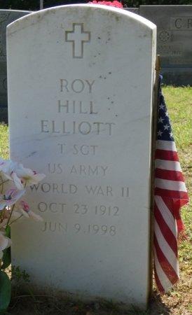 ELLIOTT (VETERAN WWII), ROY HILL (NEW) - Alcorn County, Mississippi | ROY HILL (NEW) ELLIOTT (VETERAN WWII) - Mississippi Gravestone Photos
