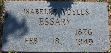 """ESSARY, EMILY ISABELLE """"BELLE"""" - Alcorn County, Mississippi 