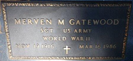 GATEWOOD (VETERAN WWII), MERVEN MILLARD (NEW) - Alcorn County, Mississippi | MERVEN MILLARD (NEW) GATEWOOD (VETERAN WWII) - Mississippi Gravestone Photos