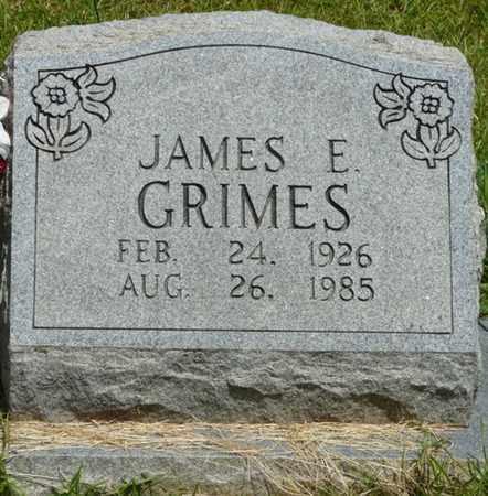 GRIMES, JAMES E - Alcorn County, Mississippi | JAMES E GRIMES - Mississippi Gravestone Photos