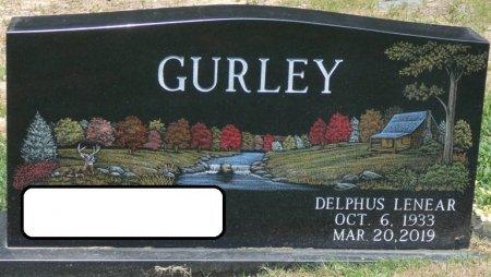 GURLEY, DELPHUS LENEAR - Alcorn County, Mississippi | DELPHUS LENEAR GURLEY - Mississippi Gravestone Photos