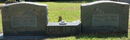 "HASTINGS GURLEY, JANICE RUTH ""JACKIE"" - Alcorn County, Mississippi | JANICE RUTH ""JACKIE"" HASTINGS GURLEY - Mississippi Gravestone Photos"