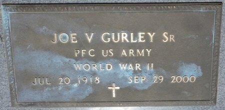 GURLEY SR (VETERAN WWII), JOE VANCE (NEW) - Alcorn County, Mississippi | JOE VANCE (NEW) GURLEY SR (VETERAN WWII) - Mississippi Gravestone Photos