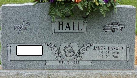HALL, JAMES HAROLD - Alcorn County, Mississippi | JAMES HAROLD HALL - Mississippi Gravestone Photos