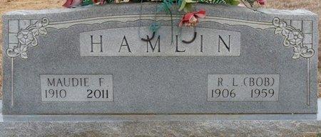 "HAMLIN, R.L. ""BOB"" - Alcorn County, Mississippi | R.L. ""BOB"" HAMLIN - Mississippi Gravestone Photos"