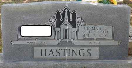 HASTINGS, HERMAN EDWARD - Alcorn County, Mississippi   HERMAN EDWARD HASTINGS - Mississippi Gravestone Photos