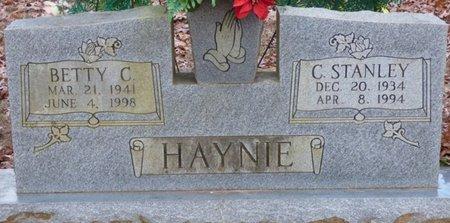 CHOATE HAYNIE, BETTY JANE - Alcorn County, Mississippi | BETTY JANE CHOATE HAYNIE - Mississippi Gravestone Photos