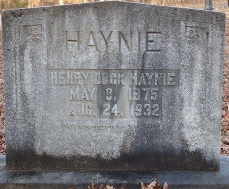 HAYNIE, HENRY DOCK - Alcorn County, Mississippi   HENRY DOCK HAYNIE - Mississippi Gravestone Photos
