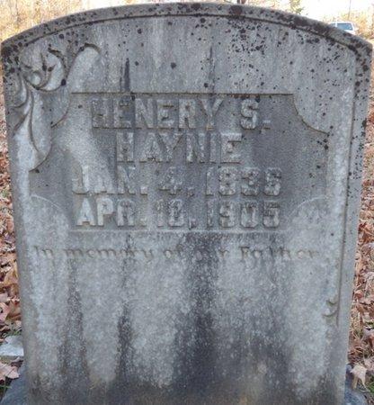 HAYNIE, HENERY STRICKLAND - Alcorn County, Mississippi | HENERY STRICKLAND HAYNIE - Mississippi Gravestone Photos