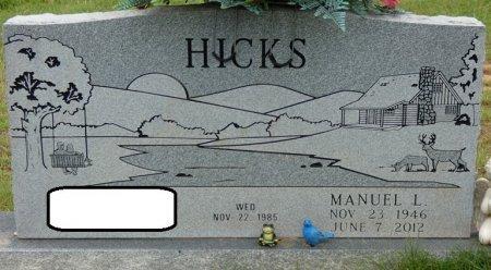 "HICKS, MANUEL LEE ""DUCK"" - Alcorn County, Mississippi   MANUEL LEE ""DUCK"" HICKS - Mississippi Gravestone Photos"
