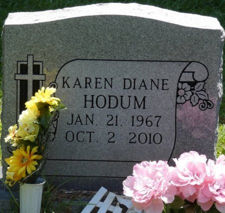 HODUM, KAREN DIANE - Alcorn County, Mississippi | KAREN DIANE HODUM - Mississippi Gravestone Photos