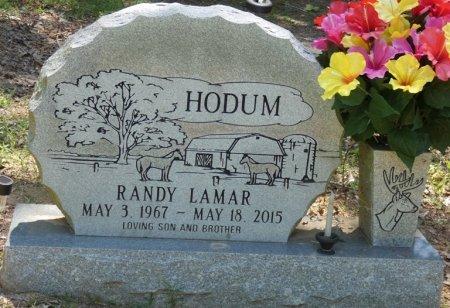 HODUM, RANDY LAMAR - Alcorn County, Mississippi | RANDY LAMAR HODUM - Mississippi Gravestone Photos