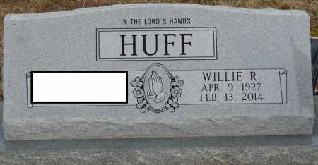 HUFF, WILLIE R - Alcorn County, Mississippi | WILLIE R HUFF - Mississippi Gravestone Photos