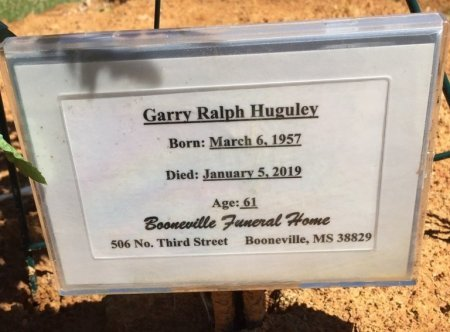 HUGULEY, GARRY RALPH - Alcorn County, Mississippi | GARRY RALPH HUGULEY - Mississippi Gravestone Photos