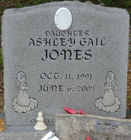 JONES, ASHLEY GAIL - Alcorn County, Mississippi   ASHLEY GAIL JONES - Mississippi Gravestone Photos