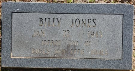 JONES, BILLY - Alcorn County, Mississippi | BILLY JONES - Mississippi Gravestone Photos