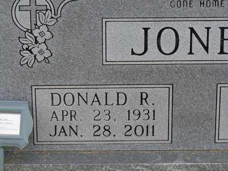 JONES, DONALD R - Alcorn County, Mississippi | DONALD R JONES - Mississippi Gravestone Photos