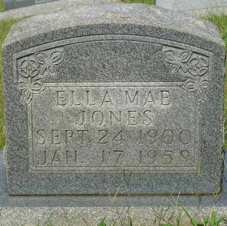 JONES, ELLA MAE - Alcorn County, Mississippi | ELLA MAE JONES - Mississippi Gravestone Photos